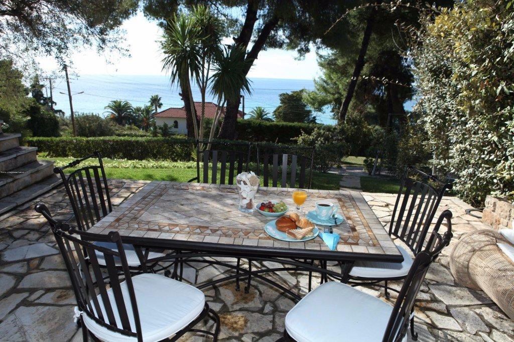 PLAGIA, Halkidiki-Kassandra, Greece - this is the Big house fully furnished with all appliances and a large plot 100m from the sea
