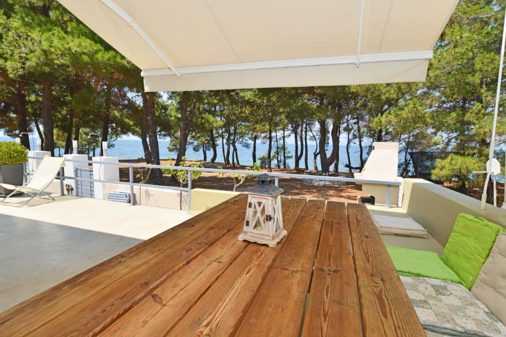 ASTERAS, Northern Aegean Islands, Greece - House on the beachfront pines. Residence permit for 5 years.