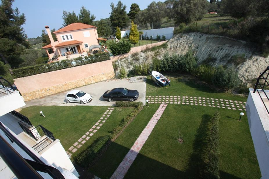 ERODIOS, Halkidiki-Kassandra, Greece - Beautiful house 115m2 fully furnished for your summer vacation with a plot of 1000m2