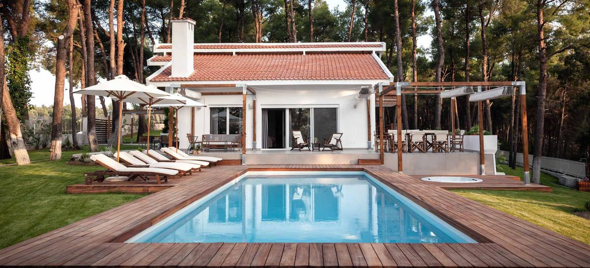 STAVRONIKITA, Halkidiki-Kassandra, Greece - exclusive villa for sale in Sany Halkidiki Greece