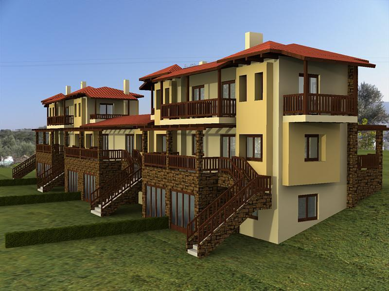 Метохи, Халкидики-Афон, Греция - complex for sale in Halkidiki Greece