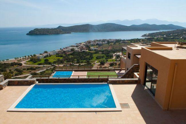 VILLA HARMONY, Crete, Greece - new fully furnished luxury villas by the sea in Crete