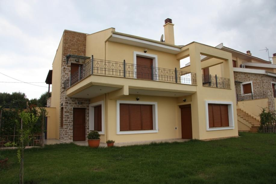IOKASTI, Halkidiki-Kassandra, Greece - Separate house with 900m2 with the beautiful sea views in a quiet location