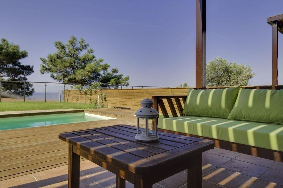 Kelifos, Halkidiki-Kassandra, Greece - Vacation house by the sea with panoramic view by the sea