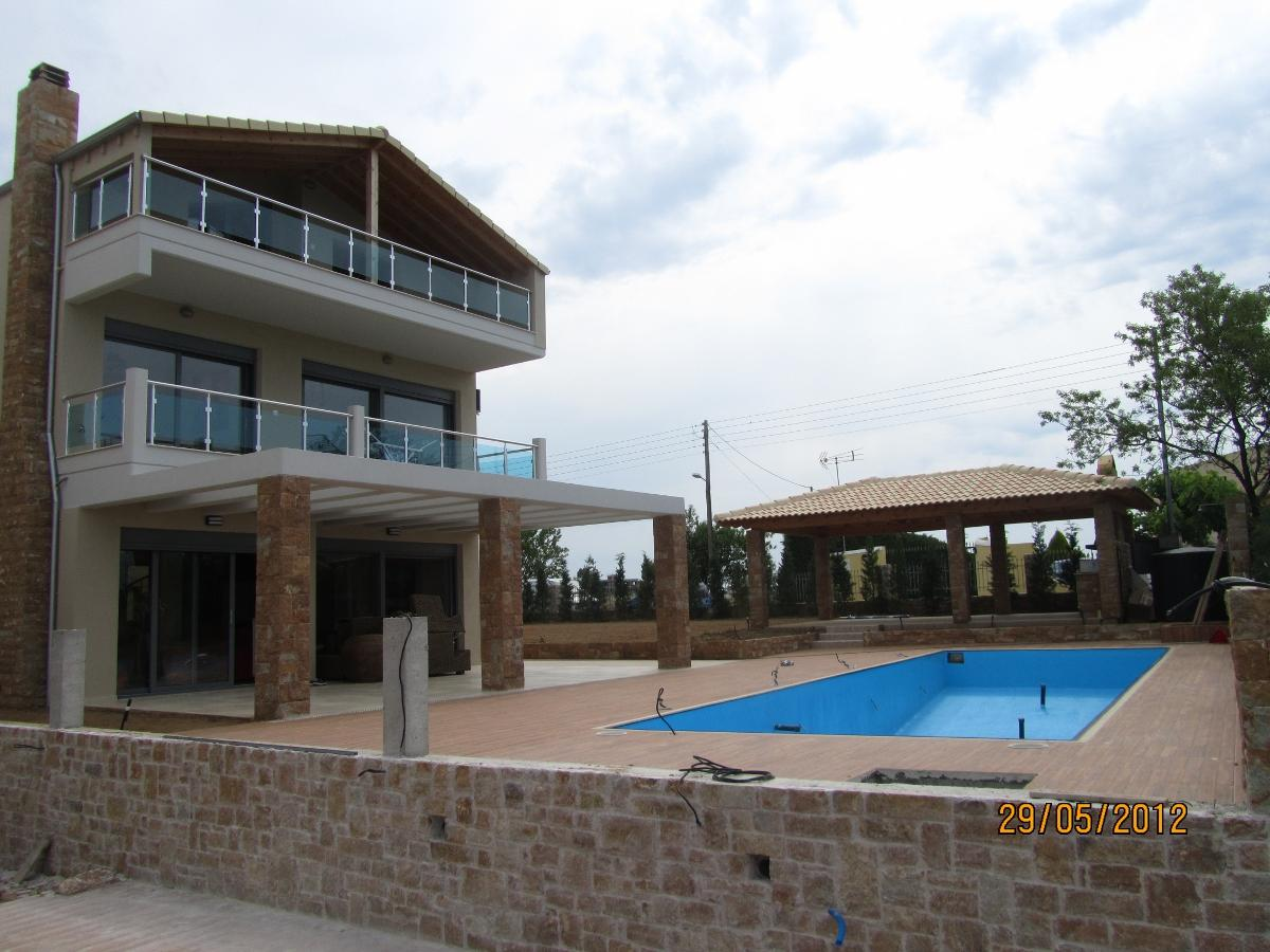 Muries, Halkidiki-Kassandra, Greece - 5 two-storey villas on a plot of 46 acres with beautiful relaxing views of the sea