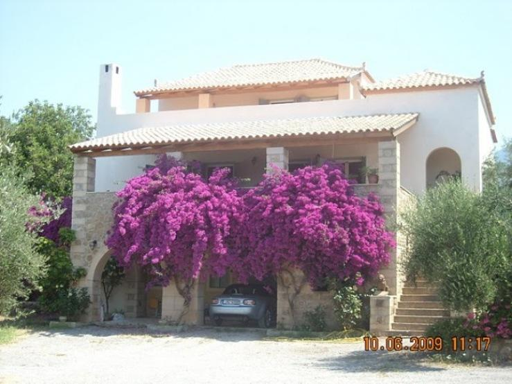 Sandova, Peloponnisos, Greece - large villa for sale on the site of 4500m2 for sale