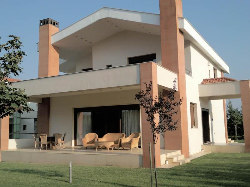 Villa Tremi, Central Macedonia, Greece - New villa in a suburb of Thessaloniki for recreation and residence