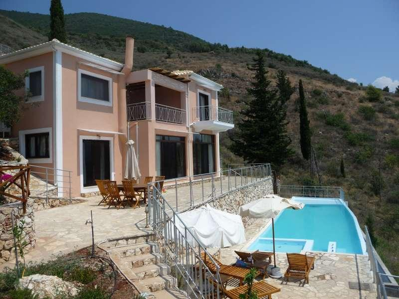 Nioli - Villa Iris, Ionian Islands, Greece - New prices for villas in the complex Niola (completly furnished and fully equipped)