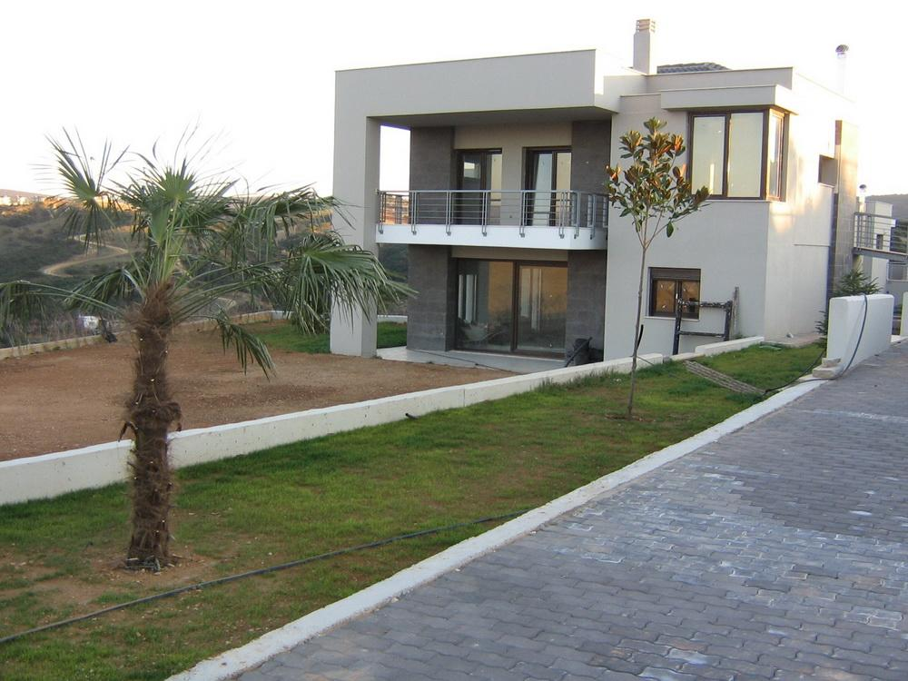 Villa Kardia, Central Macedonia, Greece - New modern villa with pool in Thessaloniki for recreation and residence