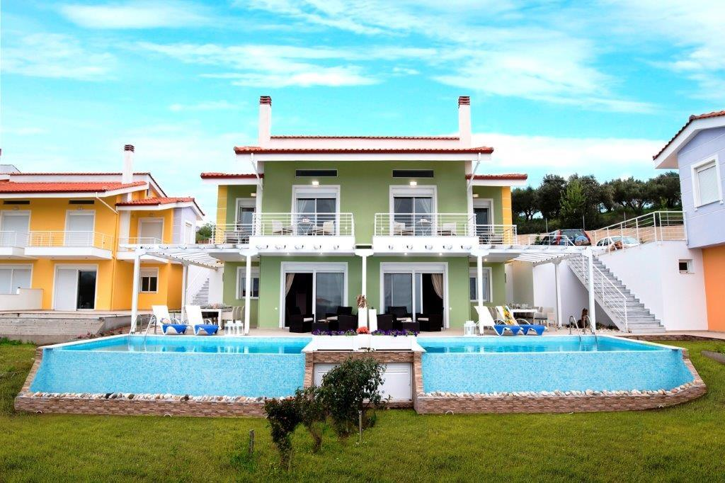 Horus, Halkidiki-Sithonia, Greece - The complex of seven new townhouses on a plot of 35 acres with panoramic views of the sea