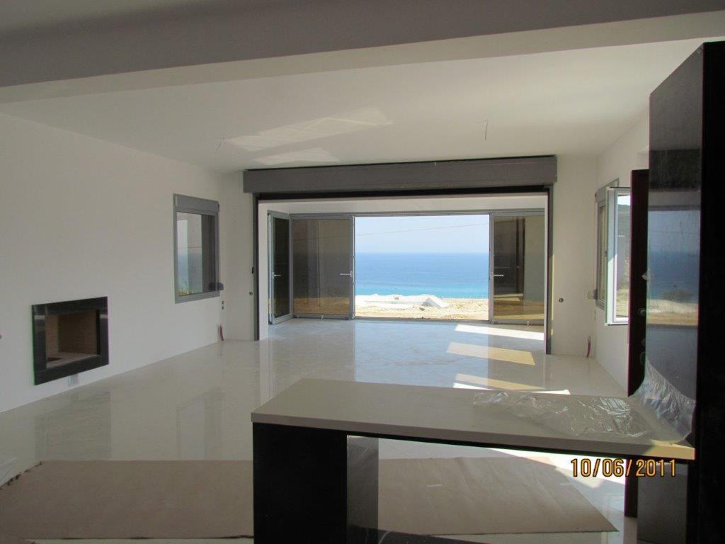 Neraida, Halkidiki-Kassandra, Greece - 6 houses on a plot of 5000m2 with panoramic views of the sea. Excellent quality of finishes and materials. 200m to the beach