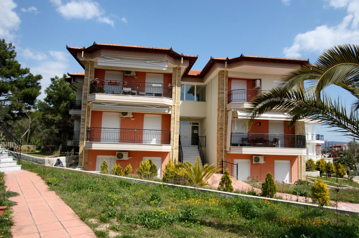 Arokaria, Halkidiki-Sithonia, Greece - Apartments for sale near the Village 200m from the sea and beautiful beach