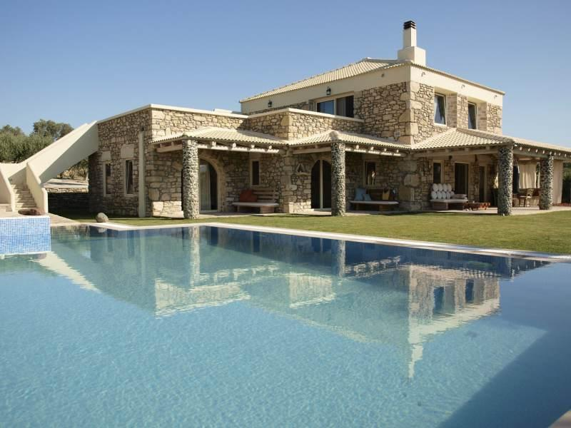Villa Armonia, Crete, Greece - New exclusive villa 270m2 with swimming pool and fully furnished on a plot of 2000m2