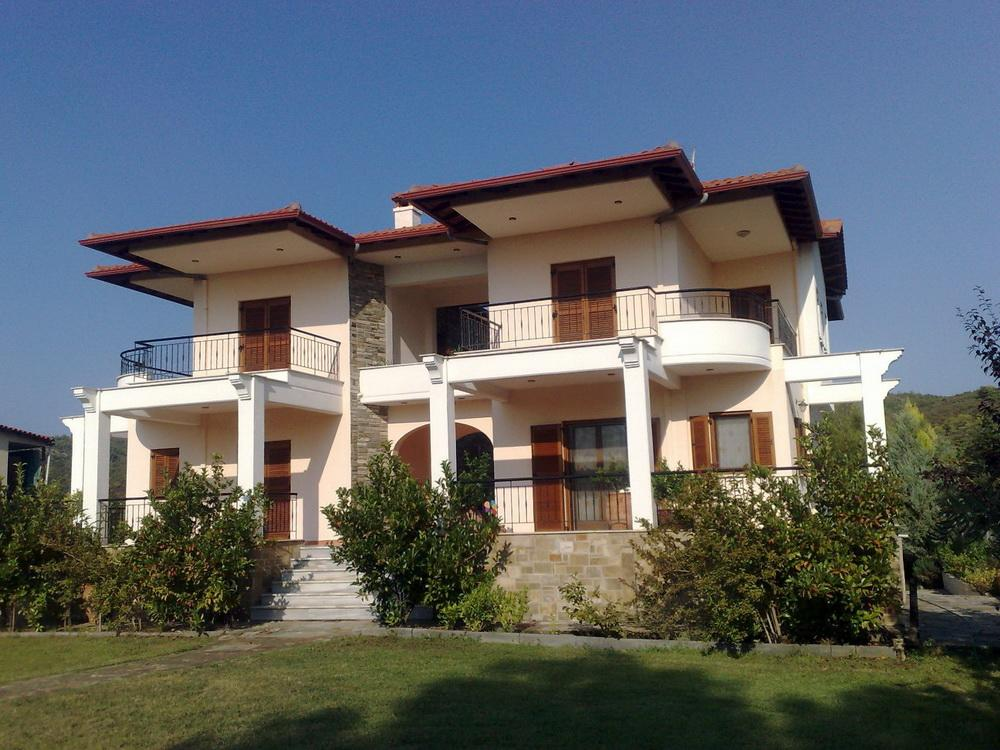 Patroklos, Halkidiki-Sithonia, Greece - 2 large new townhouse with plot of 1500m2 each in 150 m from the beautiful beach