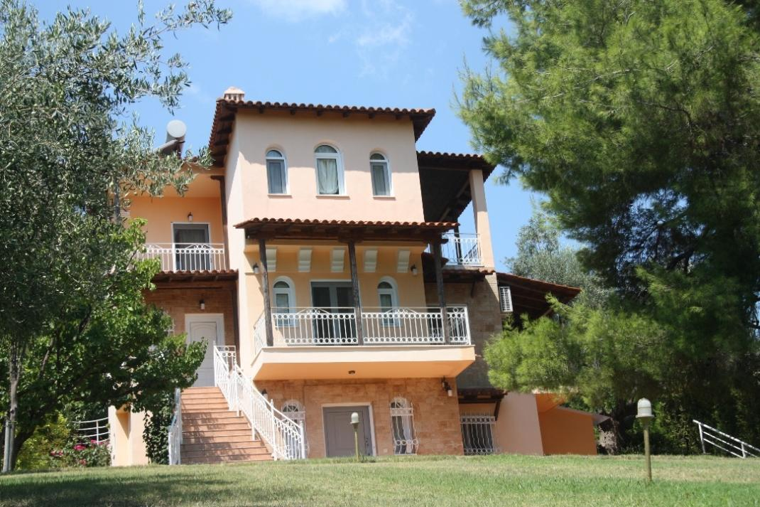 Arhontariki, Halkidiki-Kassandra, Greece - traditional house by the sea for sale