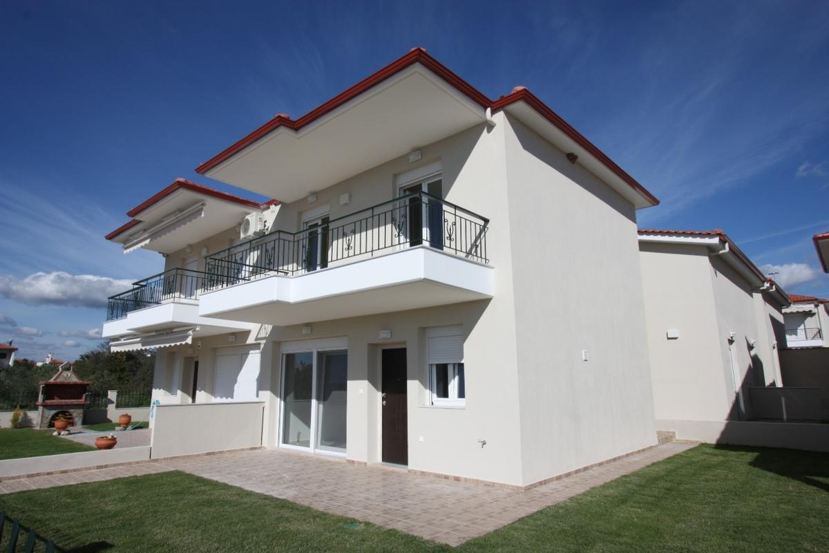Thimari 1, Halkidiki-Sithonia, Greece - New semi-detached house in a big village by the Sea. All taxes are included