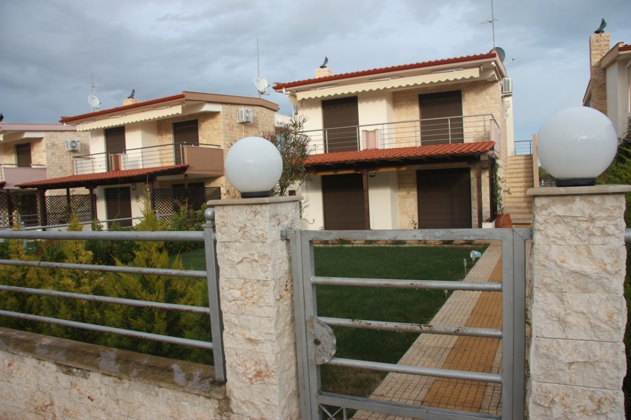 Kristallia, Halkidiki-Kassandra, Greece - The complex of 5 holiday houses and townhouses