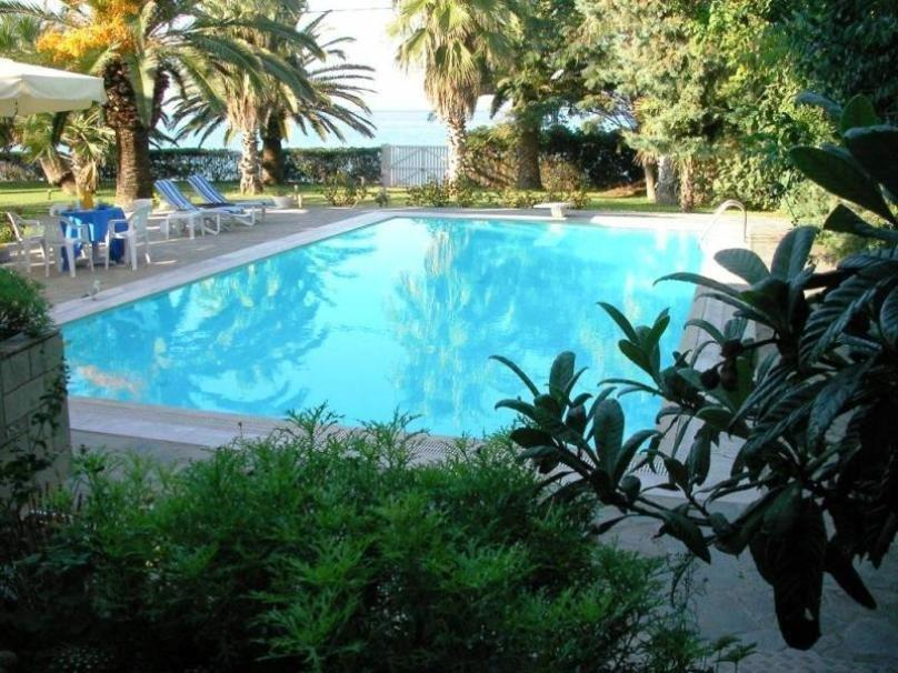 Villa Pefkahori, Halkidiki-Kassandra, Greece - exclusive villa by the sea front at gorgeous beach