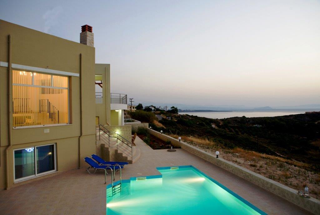 Levi, Crete, Greece - construction of houses under the customer's individual project