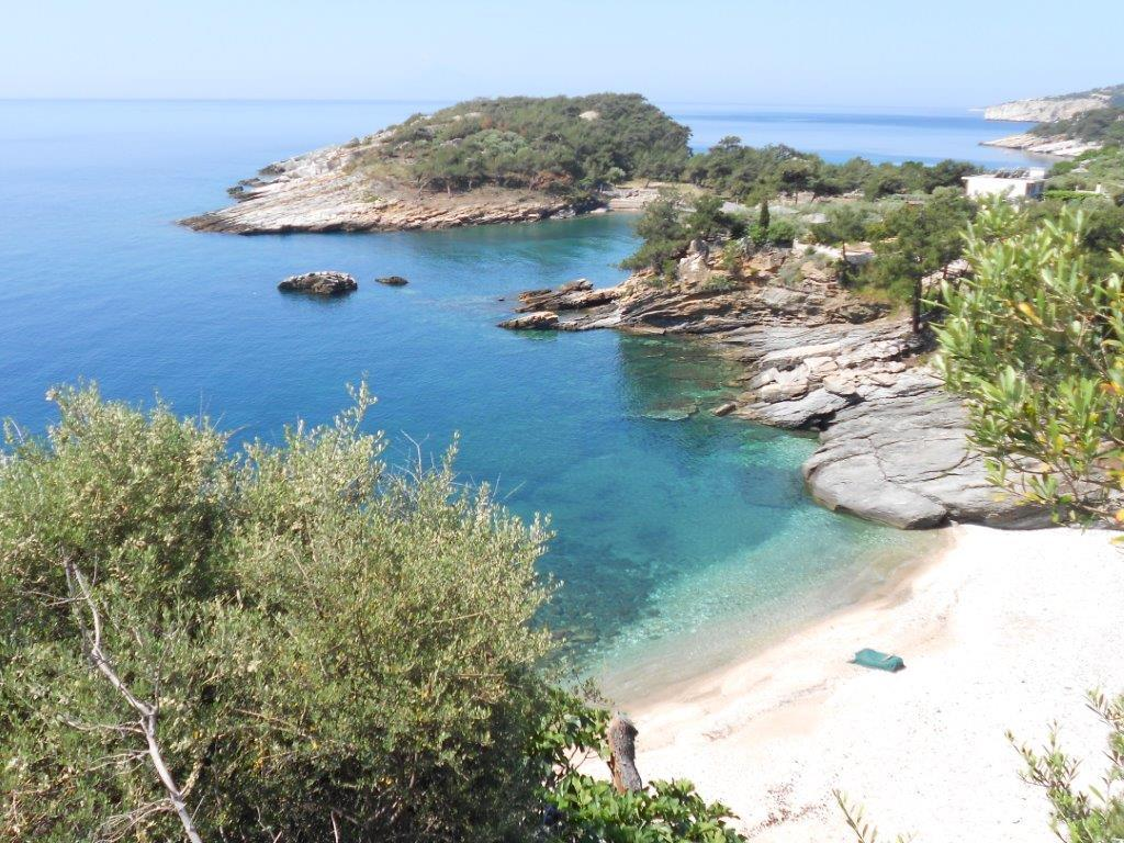 Aliki, Northern Aegean Islands, Greece - Beautiful plot of land with a private beach