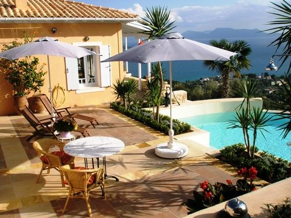 Villa Graciya, Ionian Islands, Greece - holiday villa or permanent residence in Lefkada