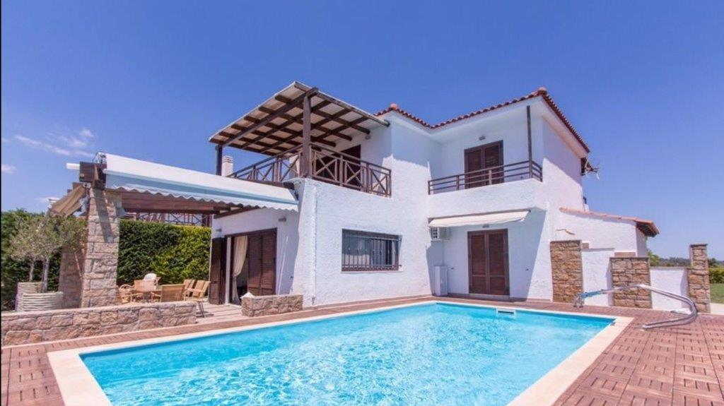 Atreas, Halkidiki-Kassandra, Greece - new fully furnished villa with a pool and endless views