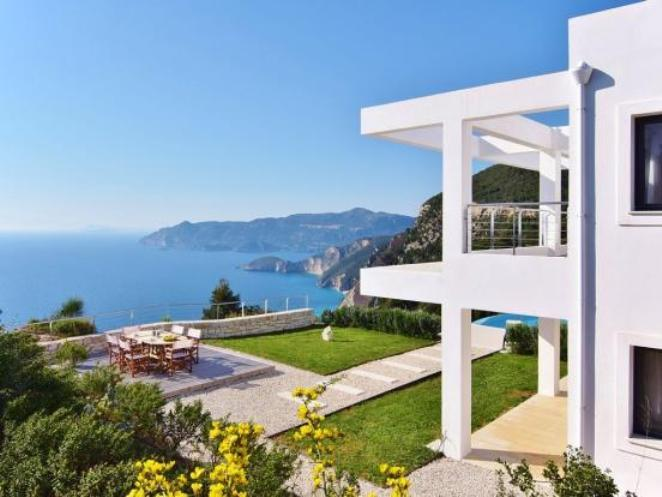 Paradise, Ionian Islands, Greece - a wonderful five bedroom villa, with incomparable sea views