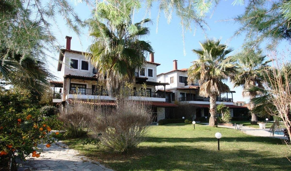 Stamna 1, Halkidiki-Kassandra, Greece - vacation appartments complex with common pool and great views