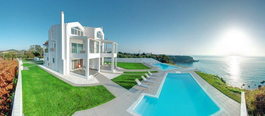 Villas Twins, Ionian Islands, Greece - two gorgeous villas are on the south west coast, in a fabulous location