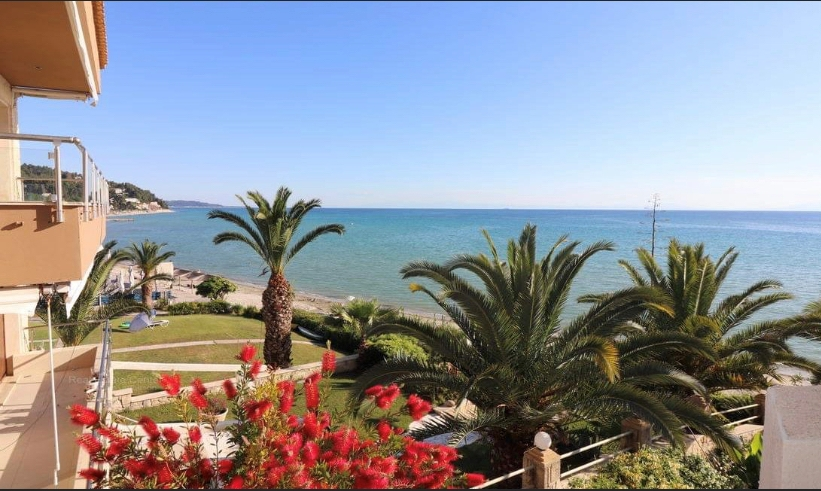 Ostrako 1, Halkidiki-Kassandra, Greece - beachfront appartment for sale