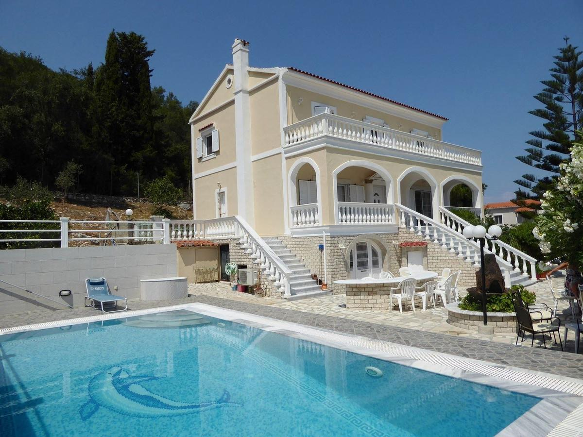 Villa Delfini, Ionian Islands, Greece - neo-classiacal vacation villa in Corfu