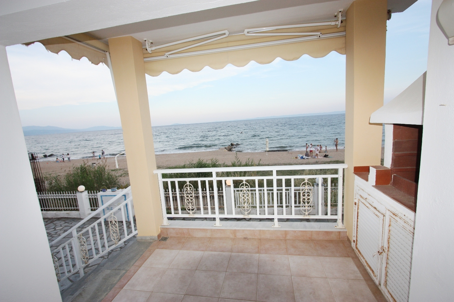 Mattheos, Halkidiki-Sithonia, Greece - 2floored apartment 1st line to the sea for sale
