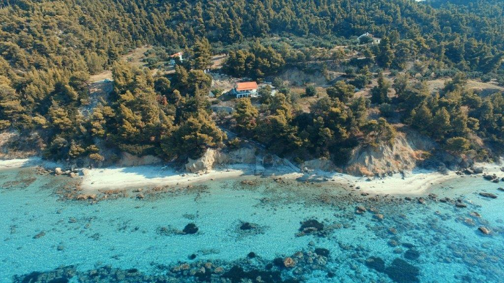 Sirina, Halkidiki-Kassandra, Greece - unique beachfromt plot for sale