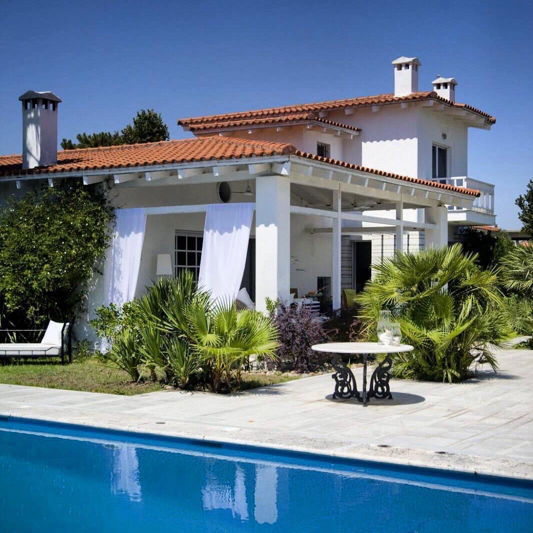 Piksida, Halkidiki-Kassandra, Greece - villa with a huge garden for sale 90m from the beach