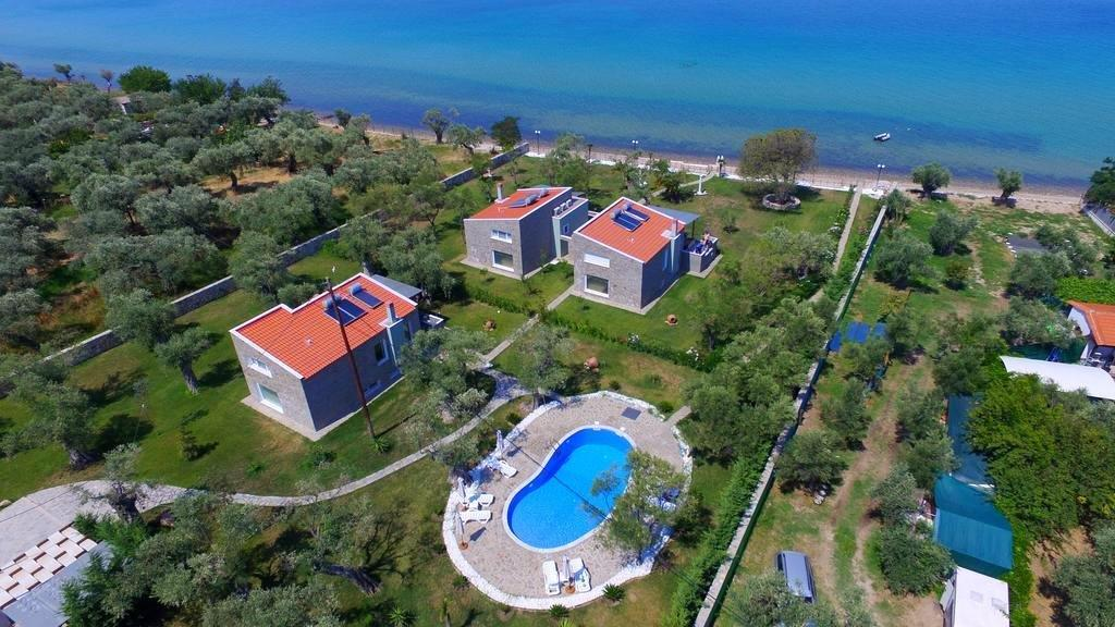 Arhondula Сomplex, Northern Aegean Islands, Greece - ready beachfront complex for rent on Thassos island with EOT licences