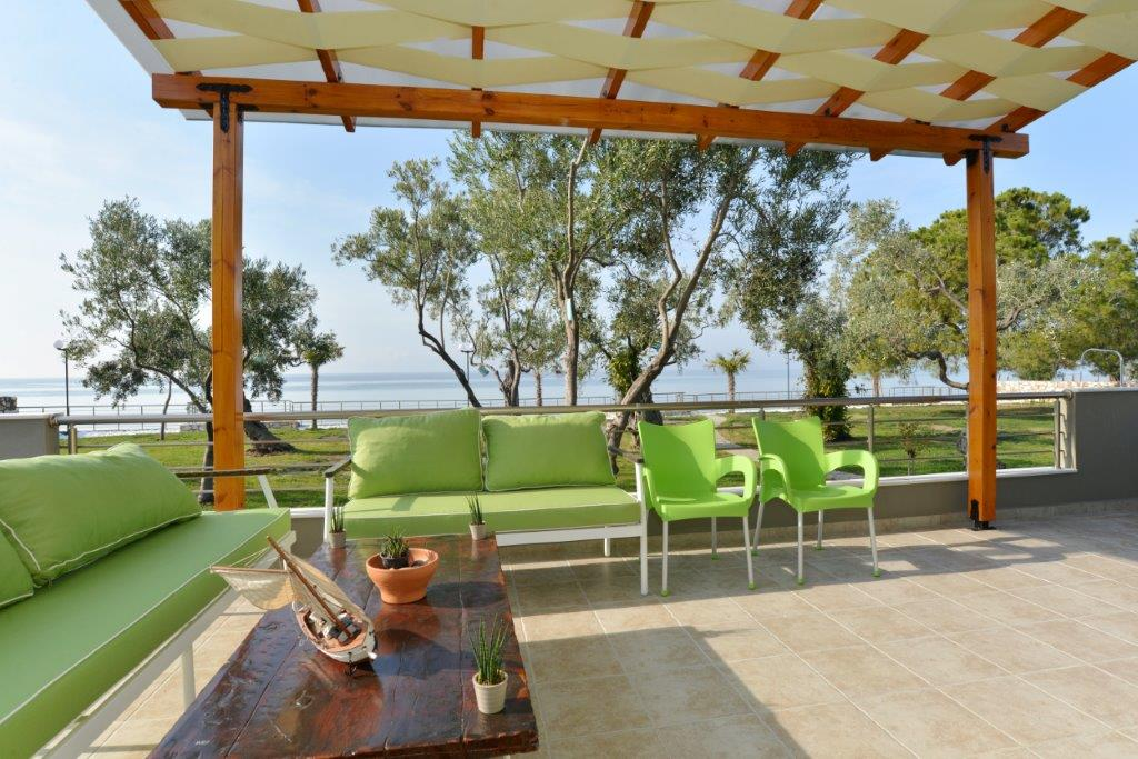 Arhondula 1, Northern Aegean Islands, Greece - beachfront villa by the sea