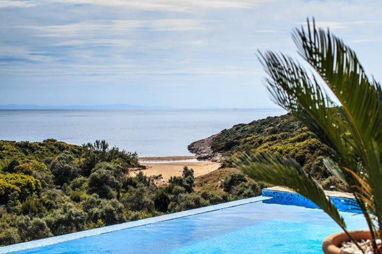 Villa MM, Northern Aegean Islands, Greece - 2 luxury properties in a gated complex with private beach