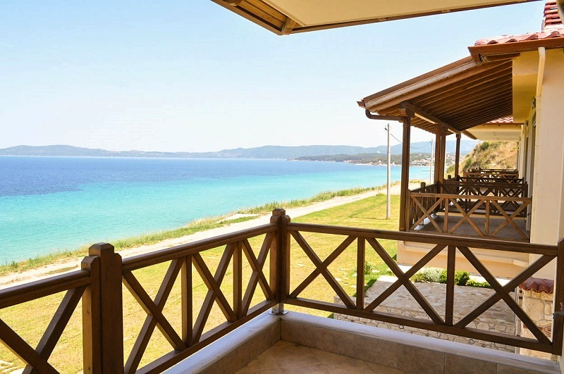 Monastiko 1, Halkidiki-Athos, Greece - beachfront houses for sale in Athos, bargain price!