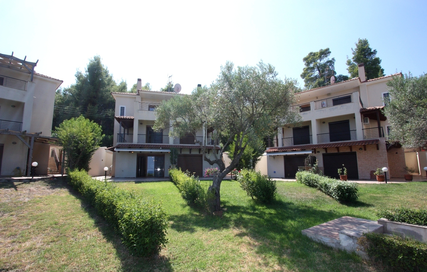 Triena, Halkidiki-Kassandra, Greece - fully furnished house with stunning views and common pool
