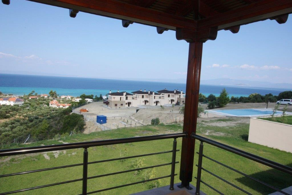 Maltezi, Halkidiki-Kassandra, Greece - Complex of 14 modern villas with panoramic view and a pool