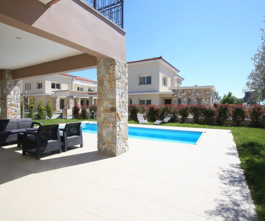 Mesimeri 1, Halkidiki-Kassandra, Greece - modern gated complex by the sea for vacation or rent