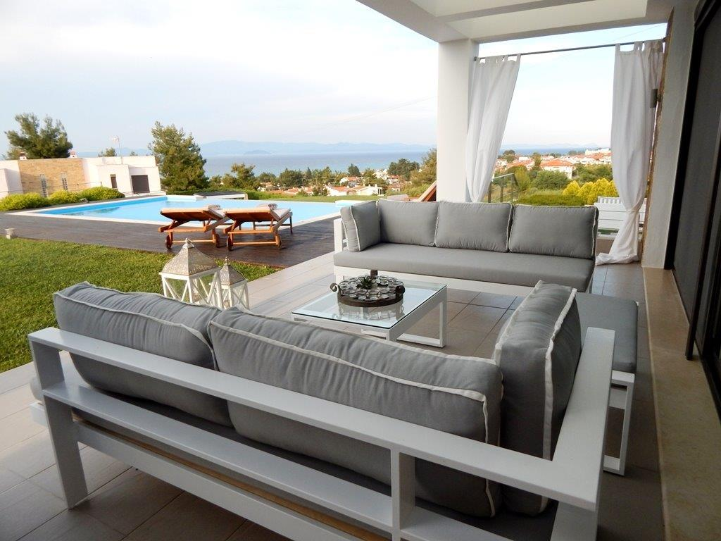 Haniotti View, Halkidiki-Kassandra, Greece - villa with pool and amazing view for sale