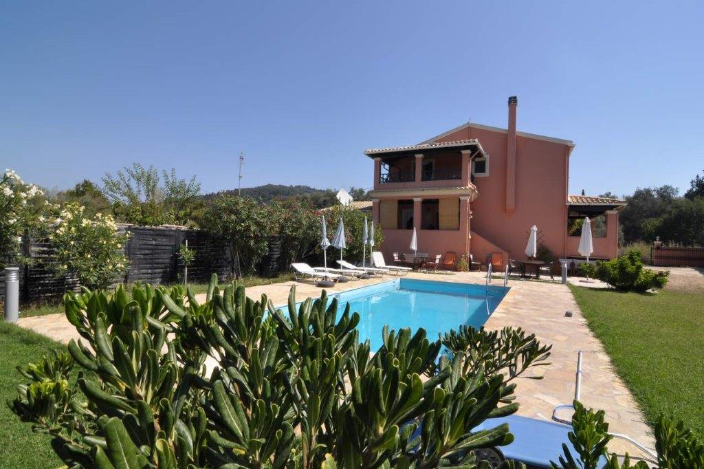 Agios Georgos, Ionian Islands, Greece - villa with pool for sale in Korfu
