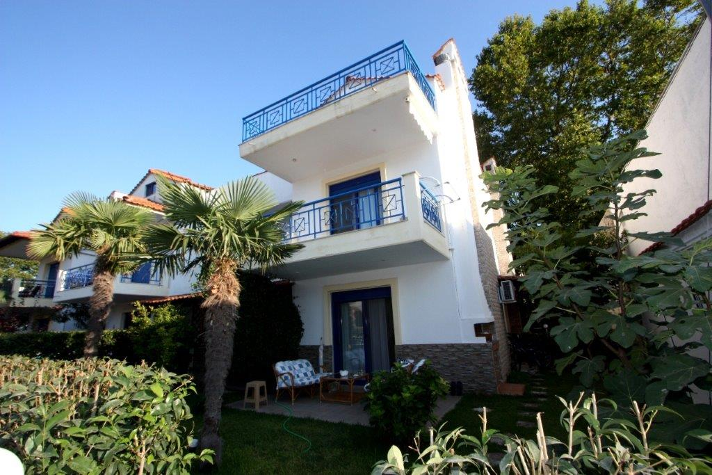 Kidonia, Halkidiki-Kassandra, Greece - renovated house inside the cozy village with sandy beach