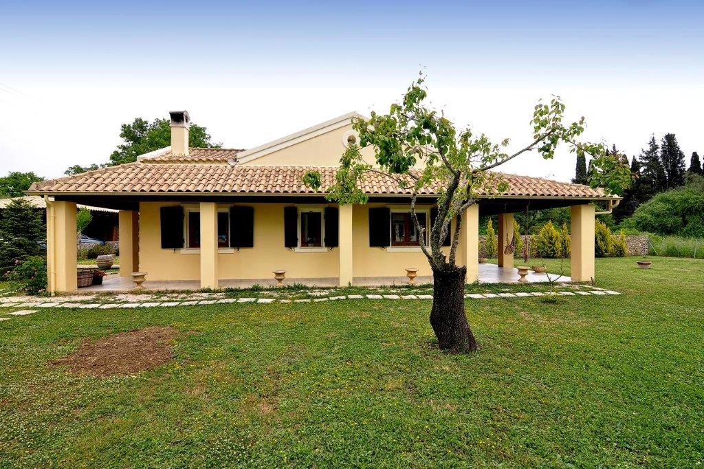 Poulades, Ionian Islands, Greece - Mediterranean bungalow for sale in Corfu