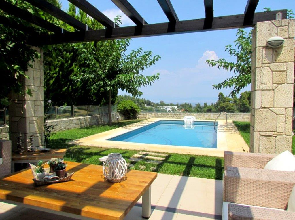 Lofos Pool, Halkidiki-Kassandra, Greece - beautiful house with the pool and great views
