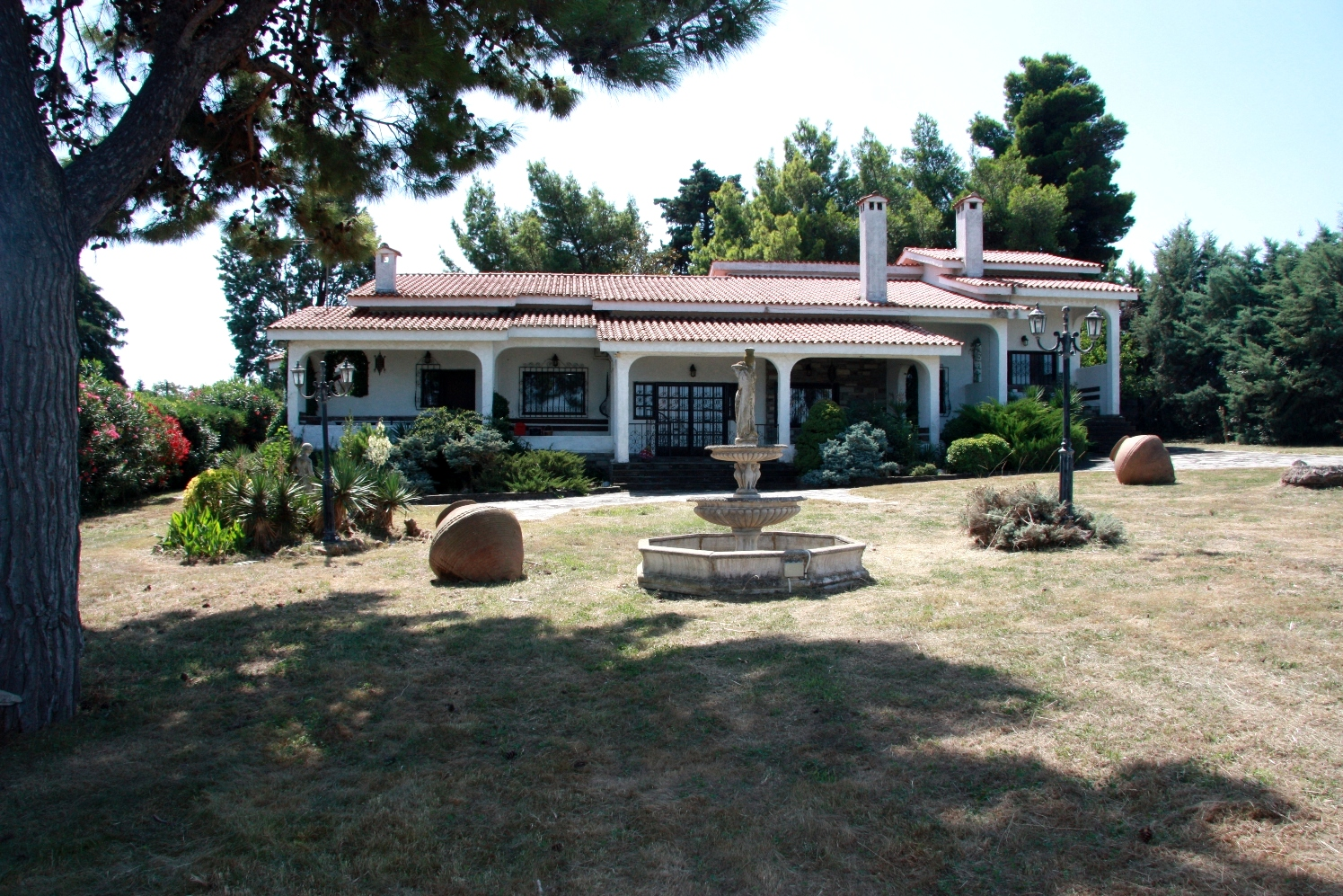 Villa Mediteranian, Central Macedonia, Greece - traditional mediteranian villa with stunning views