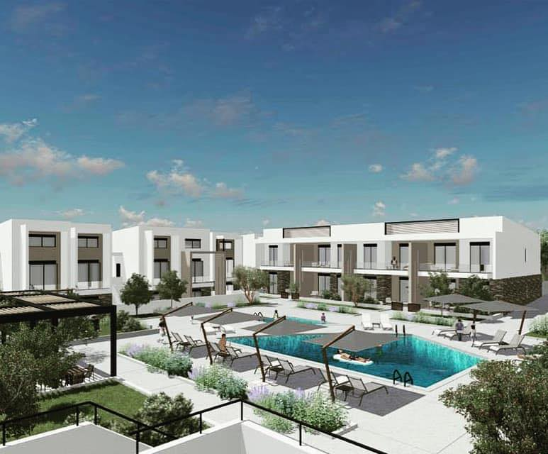 Anasa apartments, Halkidiki-Sithonia, Greece - apartments in a new complex with pool