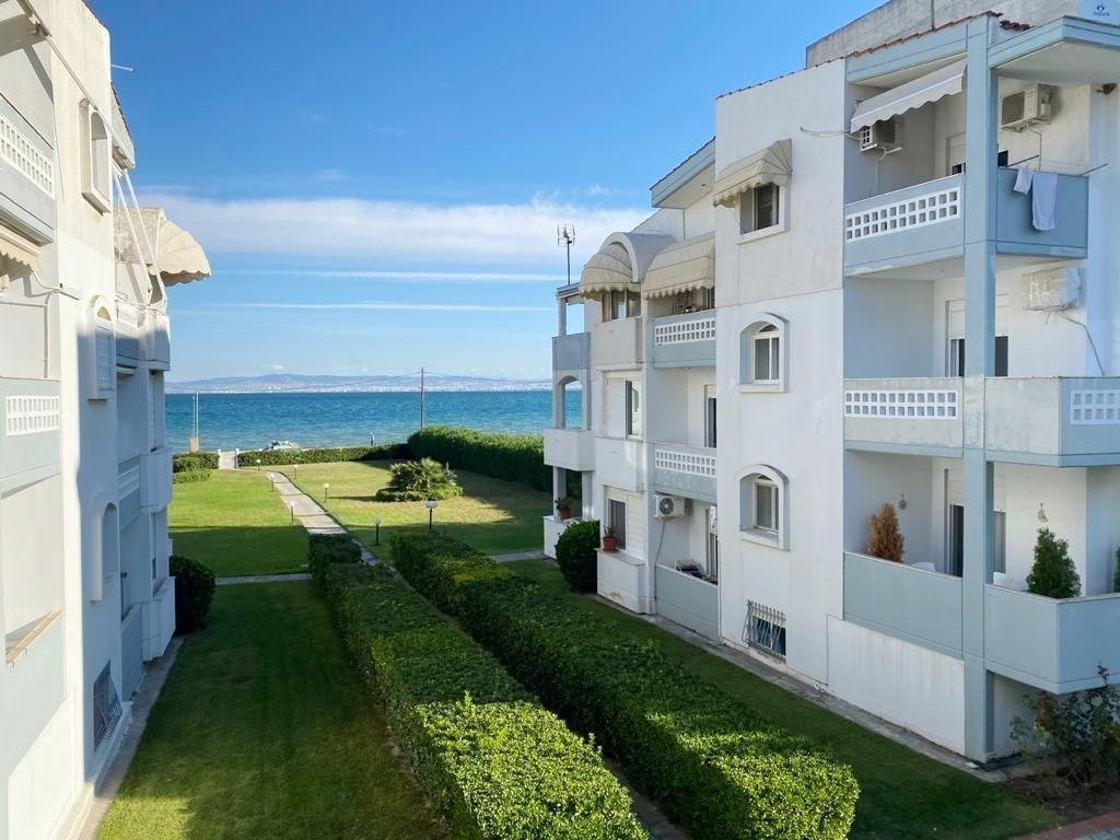 Trias, Central Macedonia, Greece - beachfront apartment by the sea