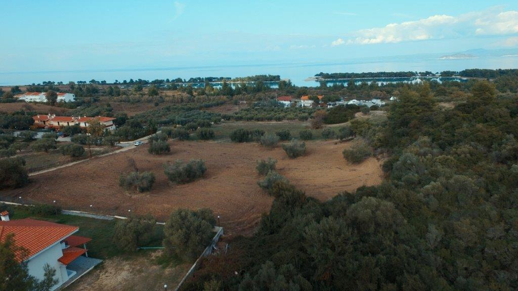 Land Plot Kassandra 13, Halkidiki-Kassandra, Greece - square plot with panoramic views for construction of touristic apartment complex for rent